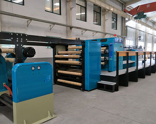 Single And Double Knife Paper Slitter Cutting Machine