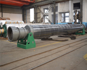 Paper Machine Calender Spool Roll