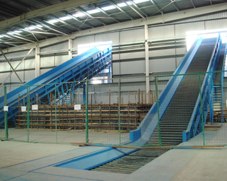 screw chain belt conveyor