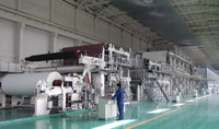Paper machine production line needs daily cleaning operations